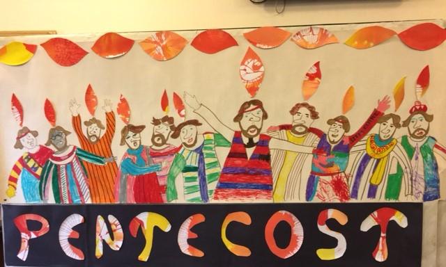 pentecost mural